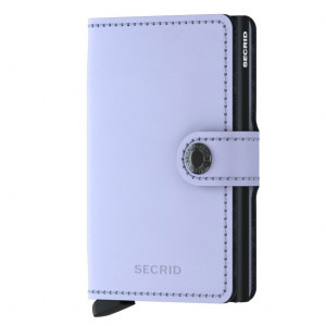 Mini Wallet Secrid - Matte Lilac/Black