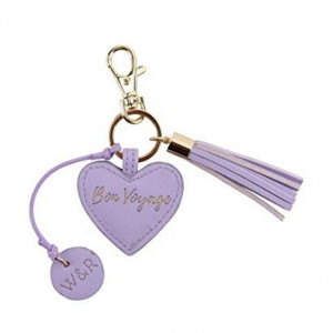 Key Ring Heart - Bon Voyage (Lilac)