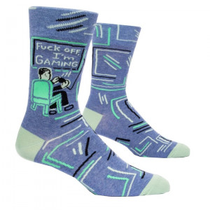 Men Socks - Fuck Off I'm Gaming