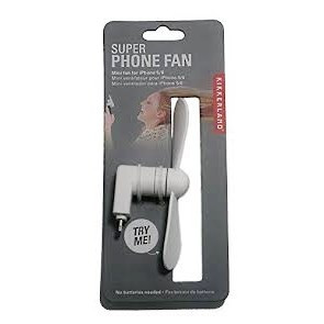 Mini Fan iPhone - White