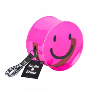 Smile & Shine Case - Neon Pink