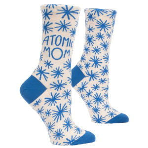 Woman Socks - Atomic Mom