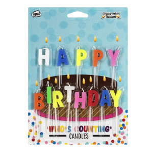 Candles - Happy Birthday