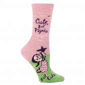 Women Socks - Cute, But Psycho