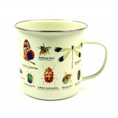 Mug Enamel - Insects