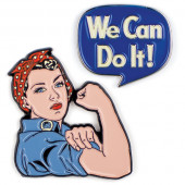 Pins - Rosie & We Can Do It