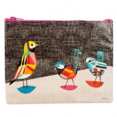 Zipper Pouch - Pretty Bird