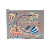 Zipper Pouch - I'm Complicated