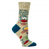Woman Socks - Get the Hell Out of My Kitchen