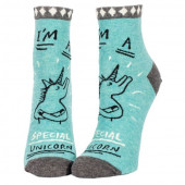 Woman Socks Ankle  - Special Unicorn