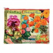 Zipper Pouch - Flower