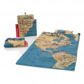 Travel Bag Set - World Map
