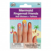 Fingernail Friends - Mermaid
