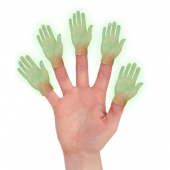 Finger Puppet - Glow in the Dark Hand Right