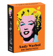 Mini Shaped Puzzle Andy Warhol - Marilyn Monroe