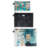 LOQI Zip Pockets - Basquiat