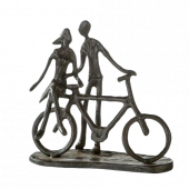 Sculpture - Couple on Bike