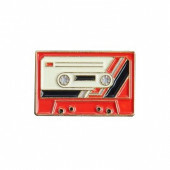 Pin - Cassette Red