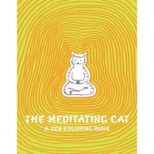 Coloring Book - The Meditating Cat