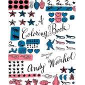 Coloring Book - Drawings By Andy Warhol