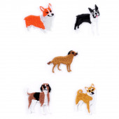 Iron On Patches - Dogs Small