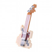 Nanoblock - Electric Guitar Ivory