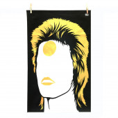 Dish Towel - Bowie Gold