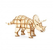3D Wooden Puzzle - Triceratops