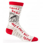 Men Socks - Chilidogs