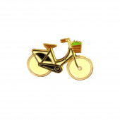 Pin - Bicycle with Basket