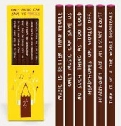 Pencil Set - Only Music Can Save Us