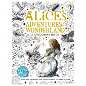 Coloring Book - Alice's Adventures in Wonderland