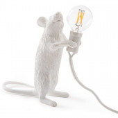 Mouse Lamp - Standing White