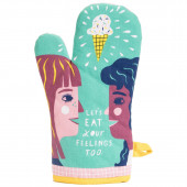 Oven Mitt - Let's Eat Your Feelings Too