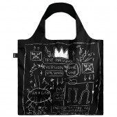 LOQI Tote Museum - Basquiat Crown