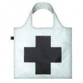 LOQI Tote Museum - Black Cross Malevich