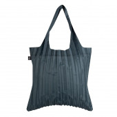 LOQI Pleated Bag - Charcoal
