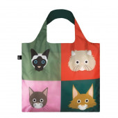 LOQI Tote Stephen Cheetham - Cats