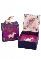 Lucky Little  Unicorn  in a Box