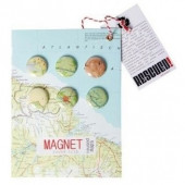 Magnets - Round Trip Map