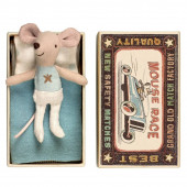 Mouse in a Box - Little Brother Race Light Blue