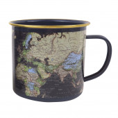 Mug Enamel - World Blue