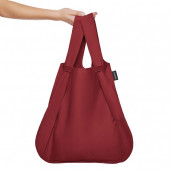 Backpack & Tote - Wine Red