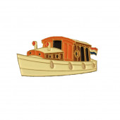 Pin - Dutch Saloon Boat
