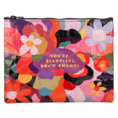 Zipper Pouch - You're Beautiful, Don't Change