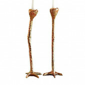 Candle Holder - Long Legs Gold