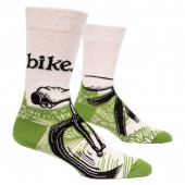 Men Socks - Bike Path