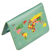 Travel Card Holder - World