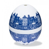Singing Egg Timer - Blue Canal Houses