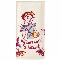 Dish Towel - Safe Word Is Takeout